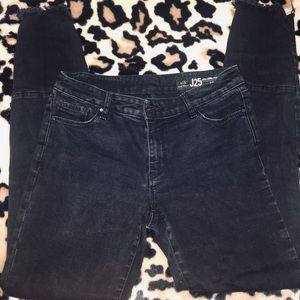 Armani exchange distressed jeans